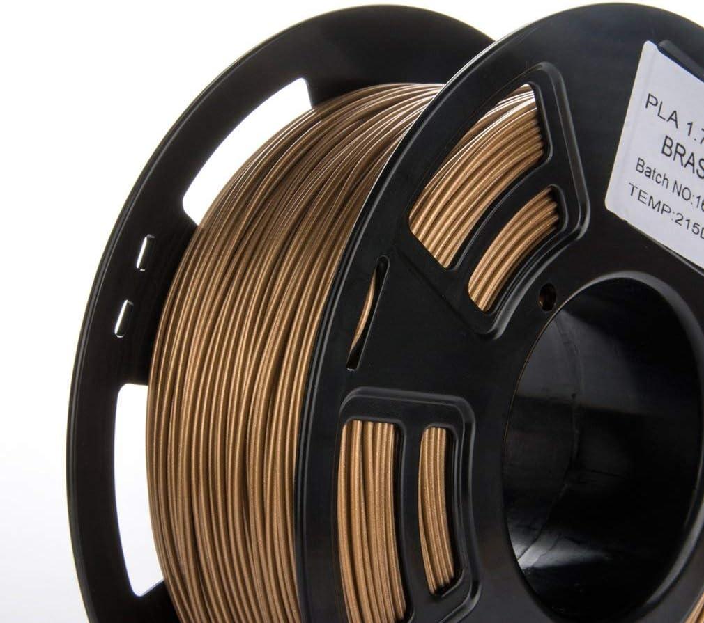 1KG Filament PLA 1.75mm 3D Printer Filament Printing Material for Printing Pen Yellow Copper