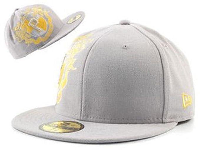 New Era Pittsburgh Pirates MLB TM Crest Grey Yellow 5950 Hat Cap 7 3