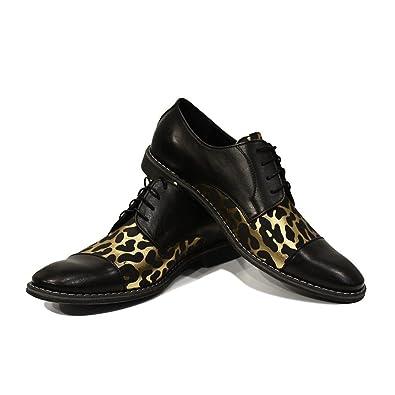 de Chine Modello Raffaello - 43 Eu - Chaussures Habillées À La Main En Cuir Italien Homme Richelieus En Cuir Or - Cuir Cuir Souple - Dentelle stockiste en ligne authentique authentique YBuLR9pA