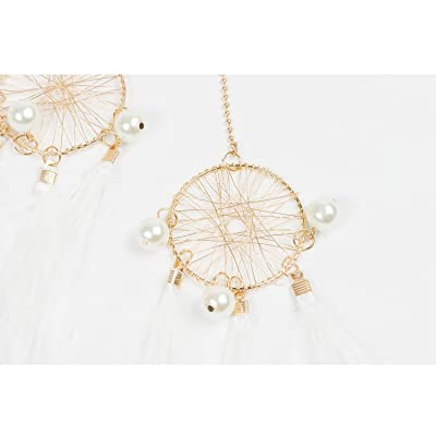 Pretty Dainty Dreamcatcher Pendant Necklace Ladies Girls GIft 2 Colour Choices