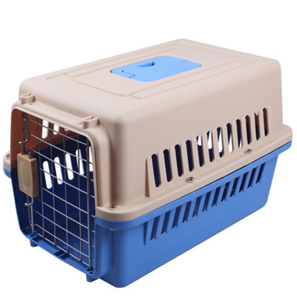 F L (81x57x60 cm) F L (81x57x60 cm) LIYONG Pet Air Box Pet Cage Portable Out Transport Cat Cage (color   F, Size   L (81x57x60 cm))