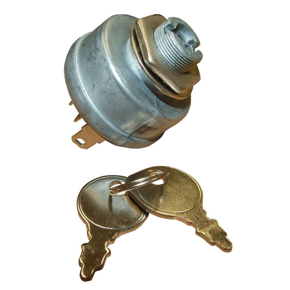 Ignition Switch & Keys Fits Some Countax Ride On Mower Tractor Rocwood