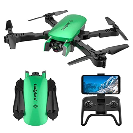 JohnnyLuLu R8 Drone FPV RC Plegable con cámara Dual 1080P HD ...