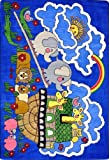 Faith Based Noah's Ark Kids Rug Rug Size: 3'10'' x 5'4''