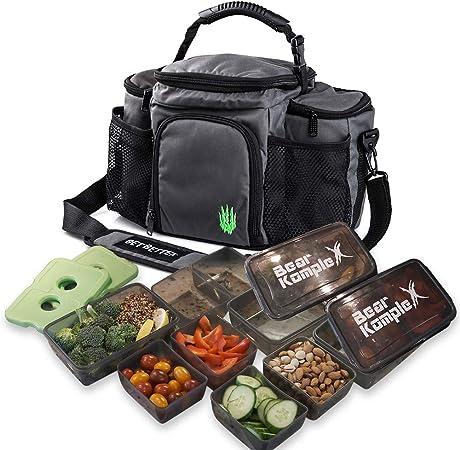 Bear KompleX Insulated Meal Prep Management Lunch Bag