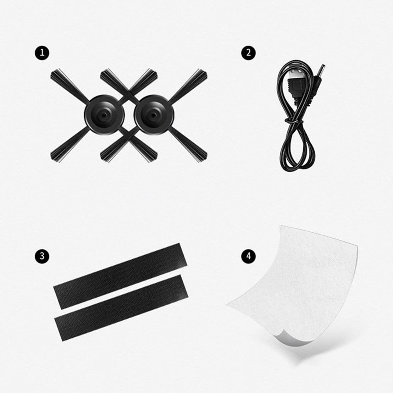 AnamSafdarButt59 Aspirador autom/ático de Alta eficiencia para el hogar Inteligente Robot de Limpieza de Pisos Inteligente Limpiador de Polvo autom/ático Barredora para el hogar