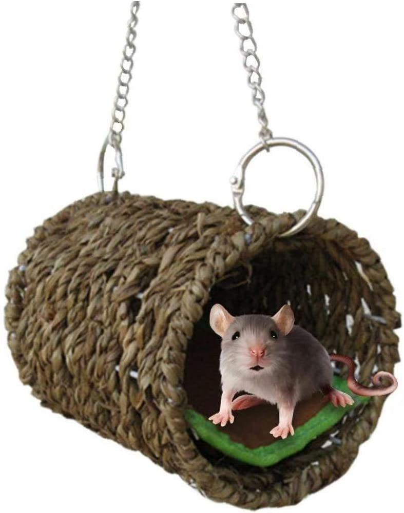 Lankater Birds Hammock Parrot Nest Hanging Cage Bed Toys Hamster Swing House Pets Supplies