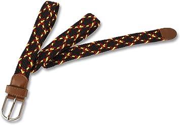 Compra M.ALBAINOX - Cinturon trenzado bandera españa en Amazon.es
