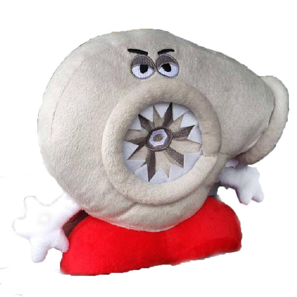 ターボ旅行ヘッドレスト枕、jacksuper Coolメモリーフォーム車ターボ装飾Plush Neck Rest旅行枕ソファクッションおもちゃギフト B0757ZV1S1