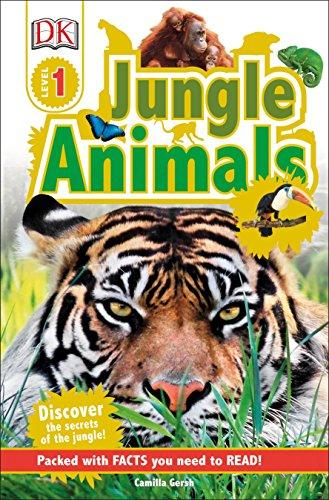 DK Readers L1: Jungle Animals: Discover the Secrets of the Jungle! (DK Readers Level 1) ()