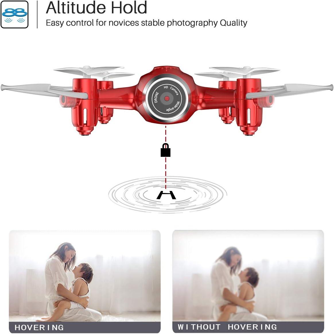 syma x22w mini drone review of altitude mode feature