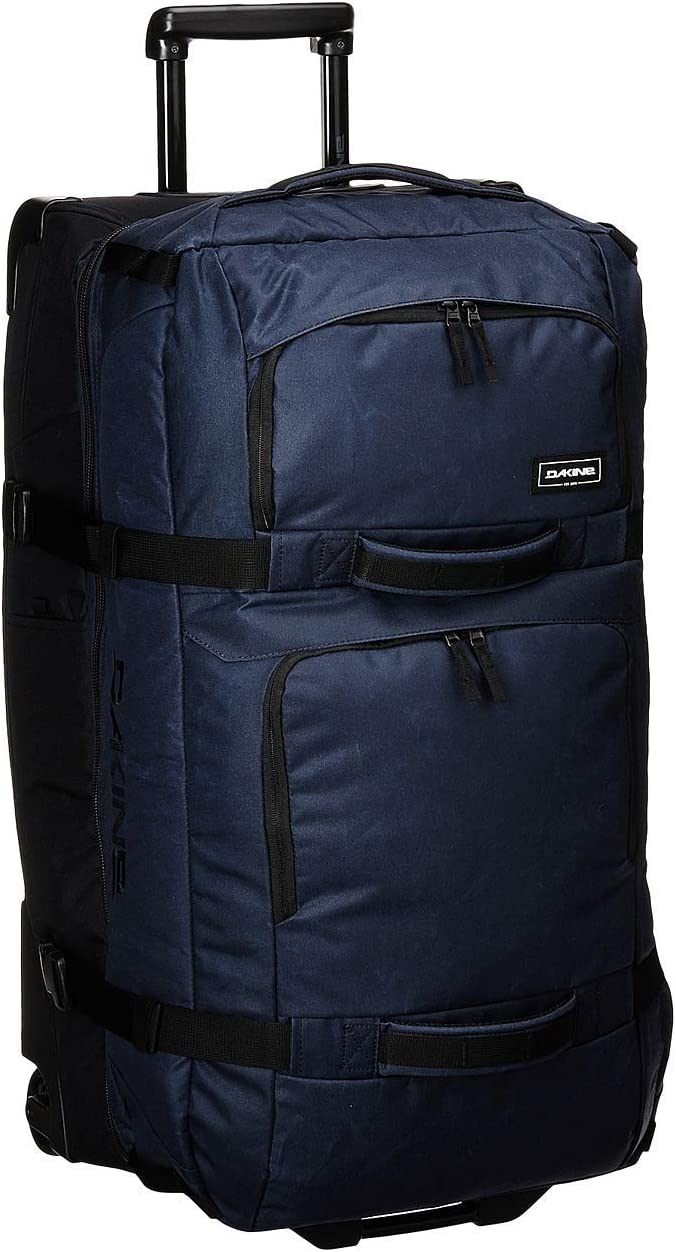 Dakine - Unisex Split Roller Luggage Bag - Durable Construction - Split-WingCollapsible Brace Level - Exterior Quick Access Pockets - Multiple Color Choices - 85L and 110L