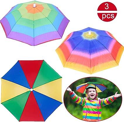 746|chapeau parapluie-DRESS Umbrella Hat-chapeau-pluie-Parasol Sun-Camping-Pêche