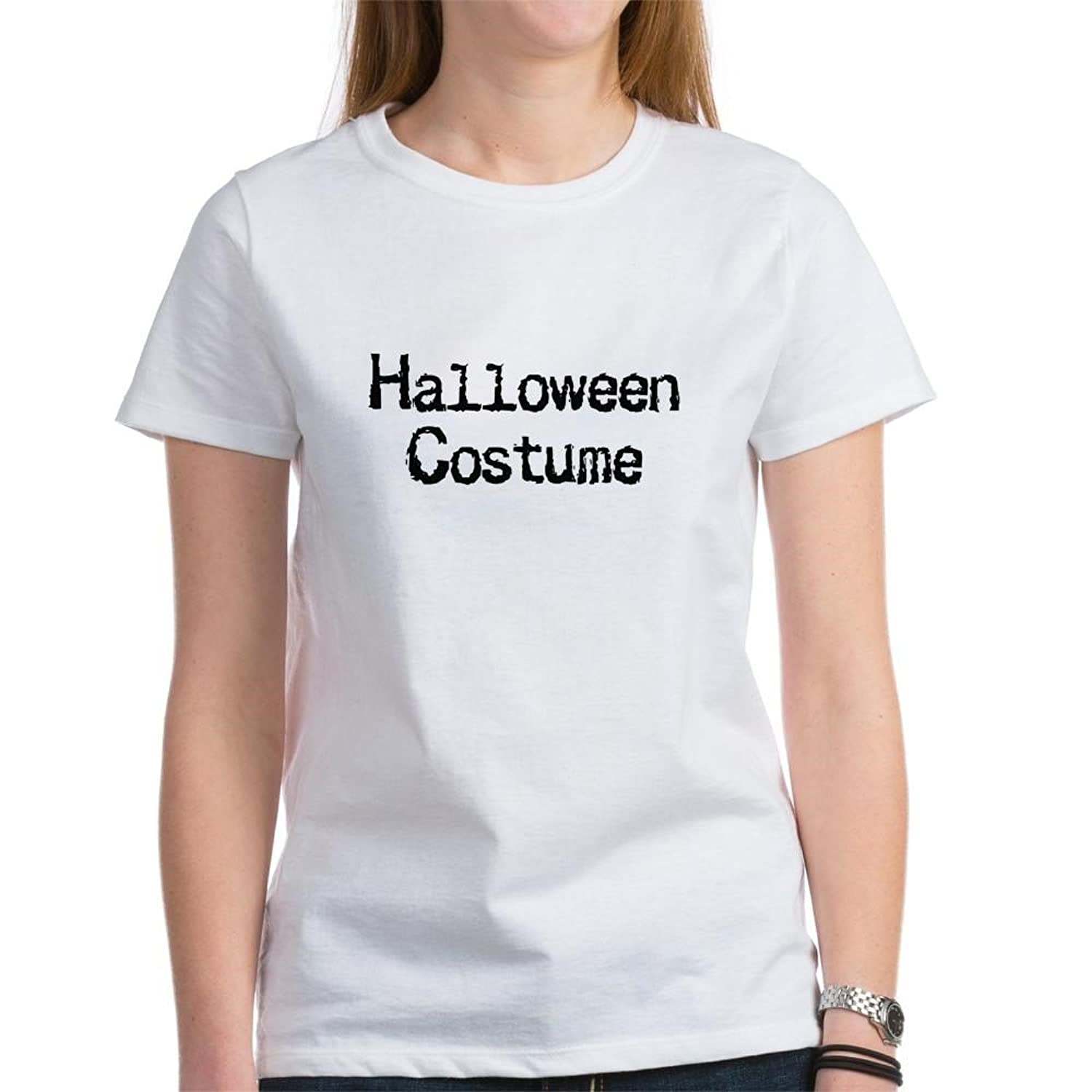 Amazon.com: CafePress - HALLOWEEN HOOTERS Women\'s T-Shirt - Womens ...