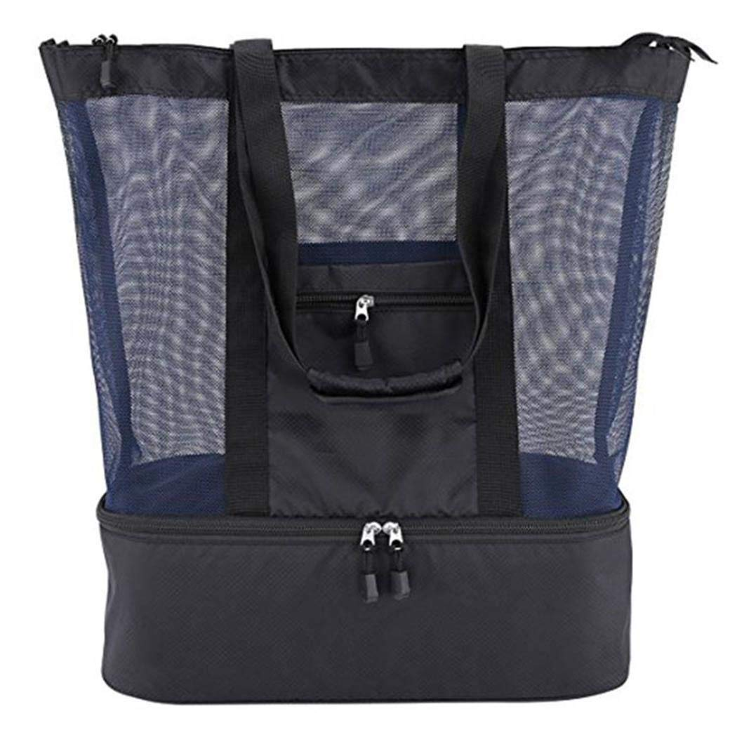 Qenci Multi-function Picnic Beach Bags Camping Insulation Bag Ice Lunch Bag by Qenci