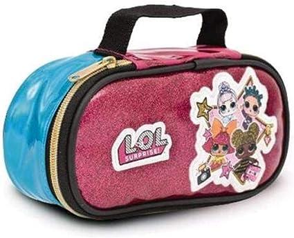 Estuche con bolsita Lol Surprise Rock Escuela cremalleras cartera Glitter + regalo de muñeca: Amazon.es: Oficina y papelería