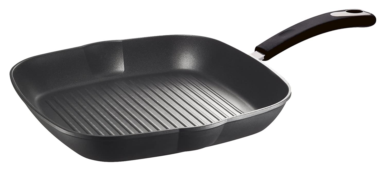 Bialetti 0C0GR028 Impact Plus Grille Aluminium Noir 50 x 30, 5 x 24, 5 cm