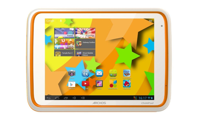 Archos Childpad 80 8-inch Tablet (ARM Cortex A9 1GHz, 1GB RAM, 4GB Storage, Wi-Fi, Camera, Android 4.1)