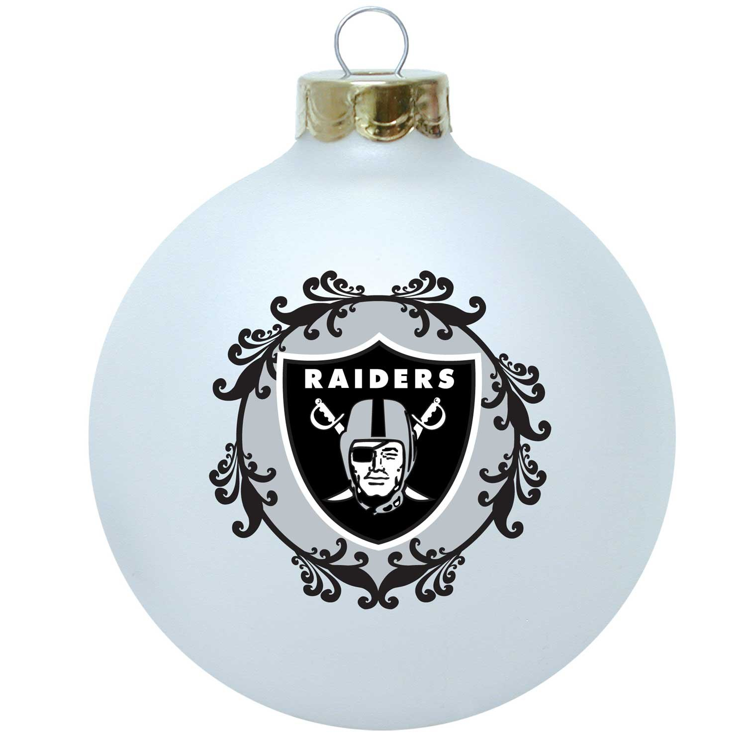 Amazon.com : NFL Oakland Raiders Large Collectible Ornament : Sports ...