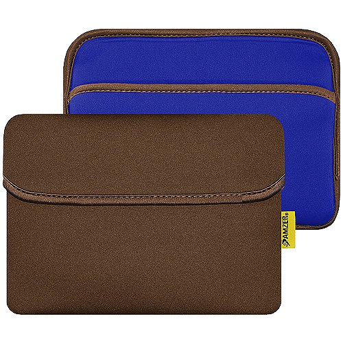 Amzer 8-Inch Slim Reversible Neoprene Horizontal Sleeve w...