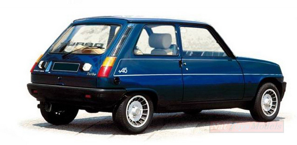 NOREV NV185157 RENAULT 5 ALPINE TURBO 1981 NAVY BLUE 1:18 MODELLINO DIE CAST: Amazon.es: Juguetes y juegos