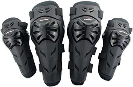 4PCS Motorcycle Motocross Racing Knee Elbow Pad Armor Guard Protective Gear