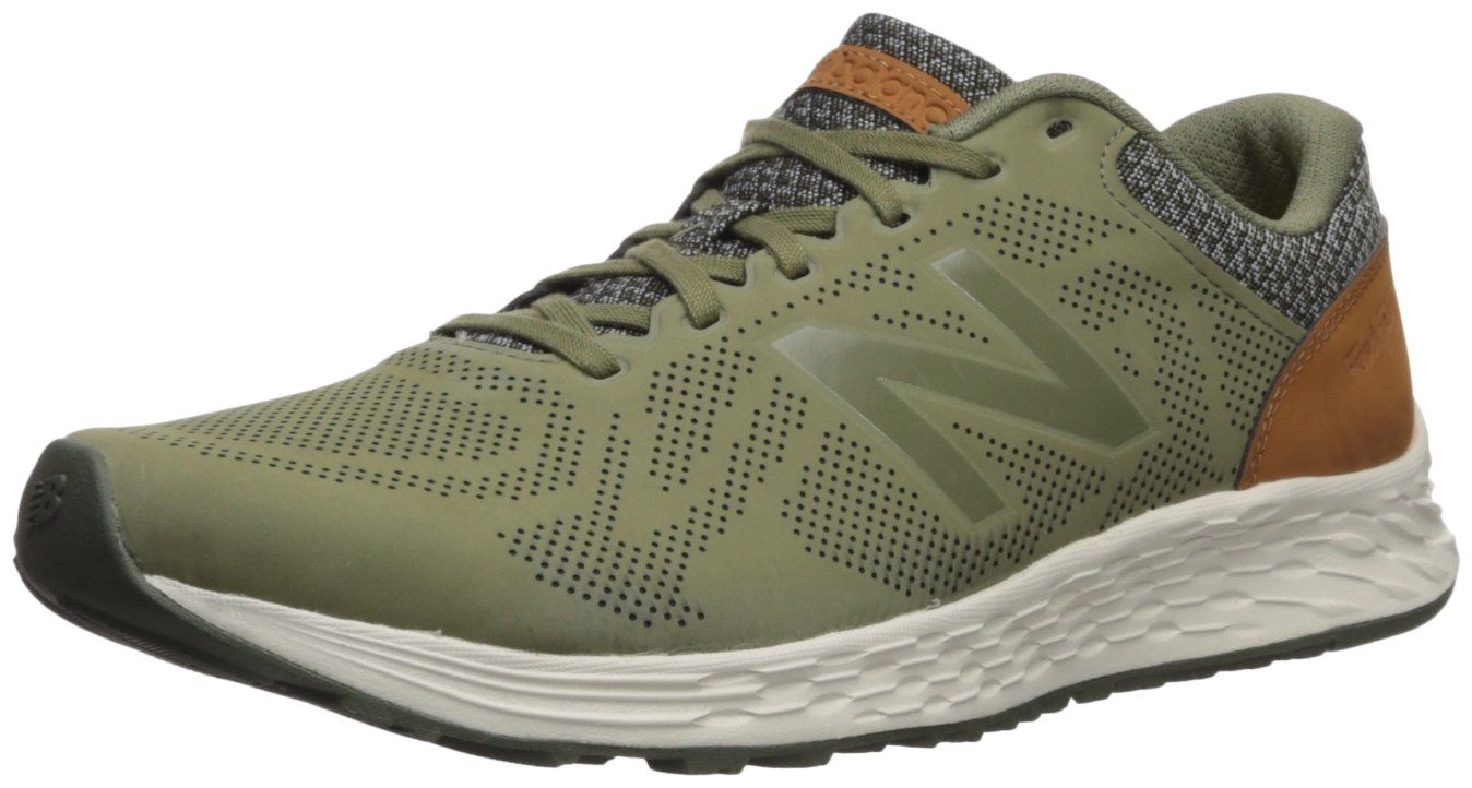 New Balance Men's Arishi V1 Fresh Foam Running Shoe B071NV2R8W 8 4E US|Dark Covert Green