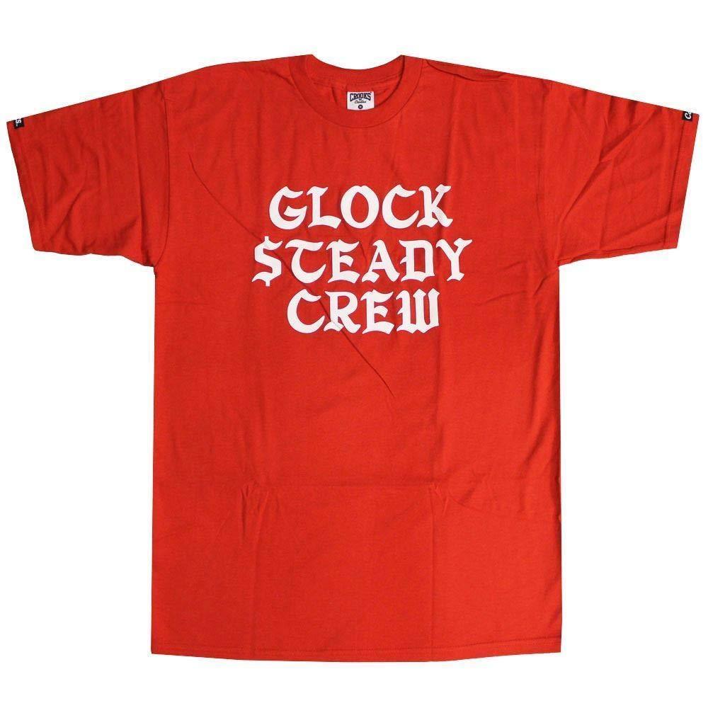 Crooks & Castles Glck Steady T-Shirt True Red: Amazon.es: Ropa y ...