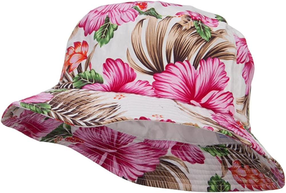 MG Floral Cotton Bucket Hat