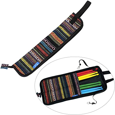 ABMBERTK Estuche para mazo, Baquetas para Baquetas, Material de algodón, con Ganchos Colgantes, Color: Amazon.es: Hogar