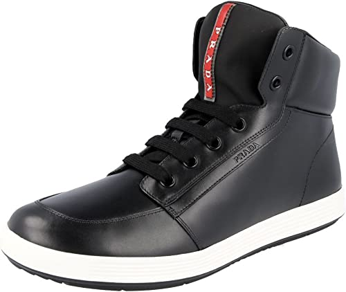 Leather High-Top Trainers/Sneaker UK
