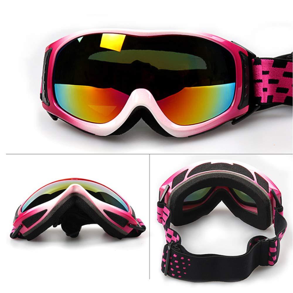 2e4dd8794d80e5 Lunettes de Ski Anti-brouillard Lentille 100 % UV400 Protection lunettes  Ski Snowboard Lunettes