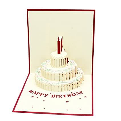 Amazon Magic Ants Happy Birthday Gift Card 3d Pop Up Cards