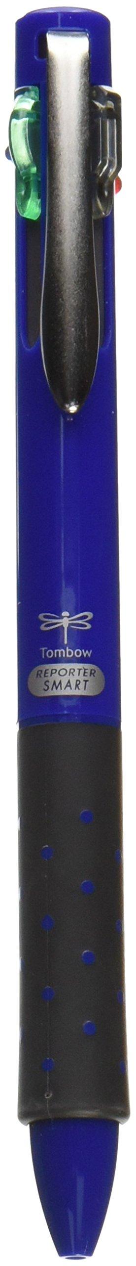 Tombow 4 Colors Ballpoint Pen, Reporter Smart 4, Blac ()