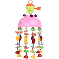 JAYNIL Enterprise Musical Plastic Merry Go Round Rattle Toy Jhoomar with Lovely Sound (Small, Multicolour)
