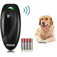 Modus Anti Barking Device, Ultrasonic Dog Bark Deterrent and 2 in 1 Dog Training Aid Control…