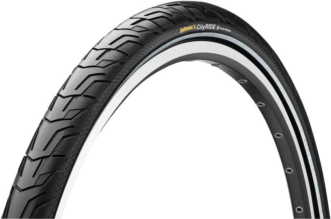 Cycle tyre Continental City Ride Reflective Road Bike 700 42