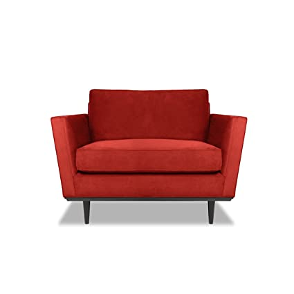 South Cone Home Deanvelch Dean Accent Chair, Red