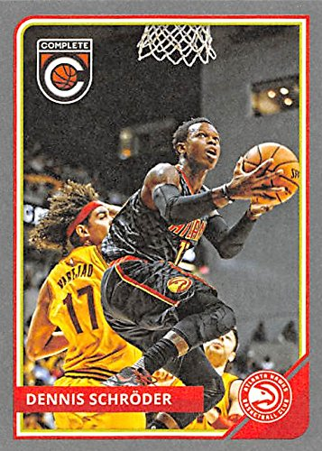 Dennis Schroder Basketball Card (Atlanta Hawks) 2015 Panini Complete Silver   272 at Amazon s Sports Collectibles Store bbbc1d16b