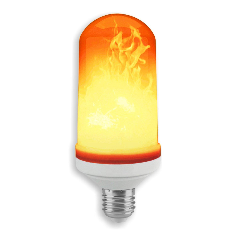 Solea de efecto Fuego LED Bombilla E27, plá stico, 5 W, blanco cá lido, 12.5 x 5 x 5 cm plástico 5W blanco cálido 12.5x 5x 5cm Maxerio GmbH & Co. KG 153500-001