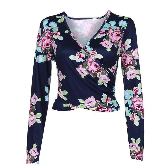 FAMILIZO_Camisetas Mujer Corto Verano Tops Mujer Primavera Camisetas Mujer 2018 Otoño Camisetas Mujer Manga Larga Algodon