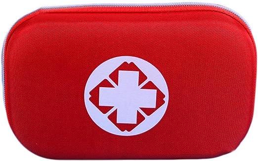 EQLEF® exterior Kit de primeros auxilios vacía Packet(rojo): Amazon.es: Jardín