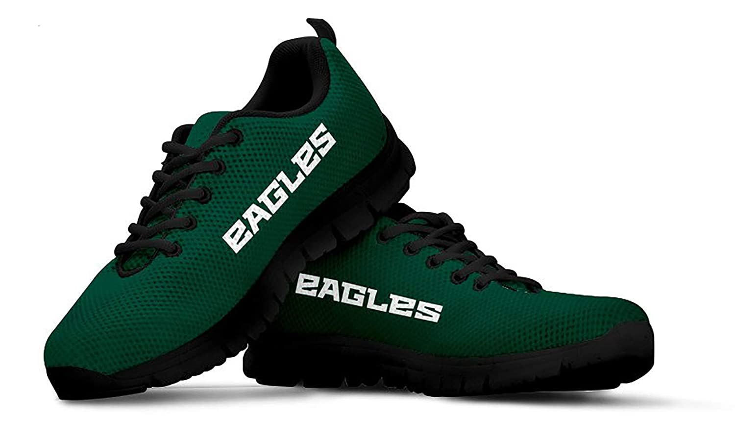 Philadelphia Eagles Themed Casual Athletic Running Shoe Mens Womens Kids Sizes Eagle Football Apparel Gear And Gifts For Men Women Kid Fan Merchandise