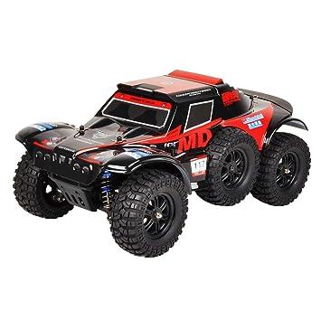 Amazon.es: Delicacydex WLtoys 124012 540 Brush Motor 2.4G 1:12 Tractor de Cuatro Ruedas eléctrico Todoterreno Vehículo Automático Coche para Niños Regalo - ...