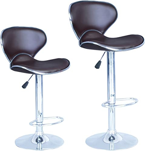 30″ Tolix Stool Style Metal Bar Stools Industrial Chair,Set of 2