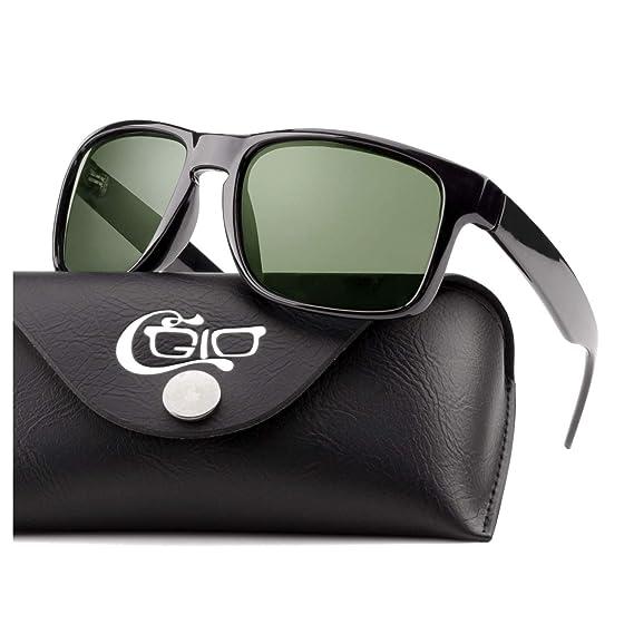 CGID Gafas de sol clásicas e irrompibles TR90, hombre y ...