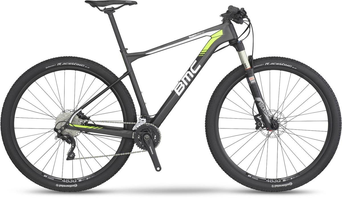 223a7171aae BMC Teamelite 02 SLX/XT MTB Hardtail, Gray XS Yellow: Amazon.co.uk: Sports  & Outdoors