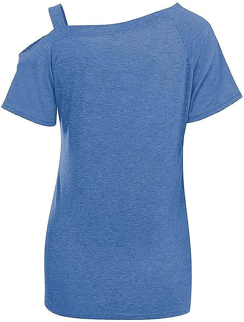 Cuteelf Schwangere Frauen Tops Mode Kurzarm Streifen N/ähen Stillen T-Shirt Frauen Schwangere Frauen Kurzarm Streifen Pflege Tops f/ür das Stillen Sommer Mode Kurzarm