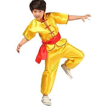 Aiweijia Disfraces de Artes Marciales para niños Disfraz de ...