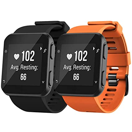 NotoCity for Garmin Forerunner 35 Band Soft Silicone Replacement Watch Strap Compatible with Forerunner 35 Smartwatch